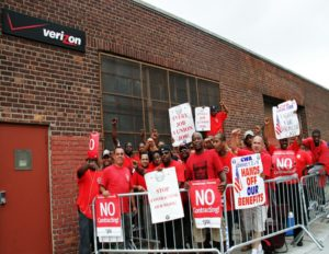 cwa on strike medical